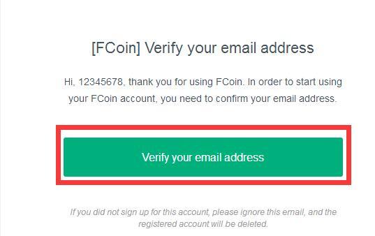 FCoin交易所账户注册流程