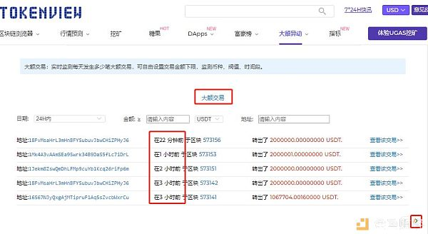 必学丨今天又增发3亿?教你怎么查看USDT大额交易记录