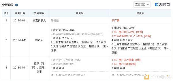 """接任者李广鹏:他是徐明星最信任的掌""""钱""""大总管"""