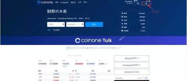 Coinone数字货币交易所 注册攻略 Coinone简介  注册