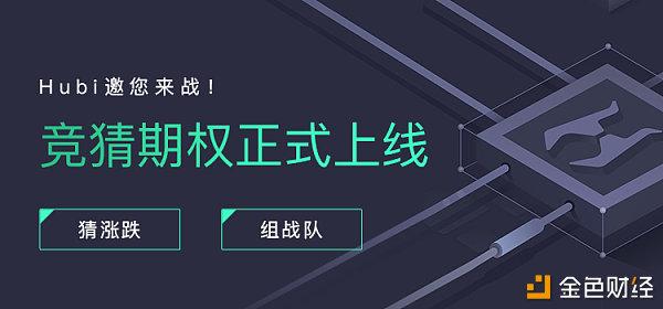 Hubi交易所:重磅上线指数猜涨跌——竞猜期权