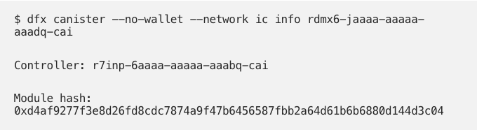 验证互联网身份代码:演练